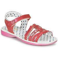 Schuhe Mädchen Sandalen / Sandaletten Catimini PASTEL Rose