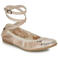Schuhe Mädchen Ballerinas Ikks EMILY Beige