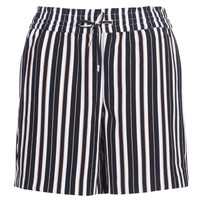 Kleidung Damen Shorts / Bermudas Only ONLPIPER Marine / Weiss