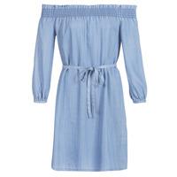 Kleidung Damen Kurze Kleider Only ONLSAMANTHA Blau