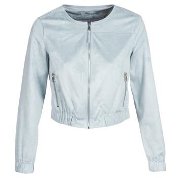 Kleidung Damen Lederjacken / Kunstlederjacken Only ONLLEONA Blau