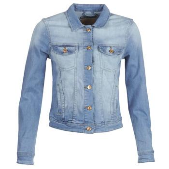 Kleidung Damen Jeansjacken Only ONLTIA Blau
