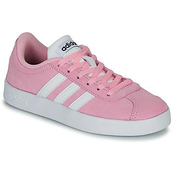 Schuhe Kinder Sneaker Low adidas Originals VL COURT K ROSE Rose