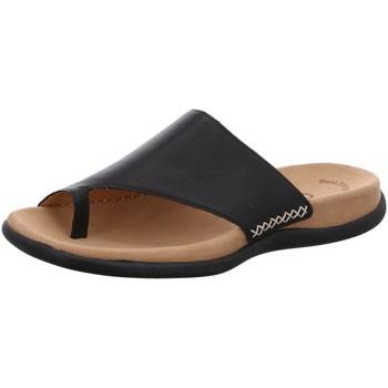 Schuhe Damen Pantoletten / Clogs Gabor Pantoletten Voting 03.700.27 schwarz