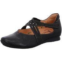 Schuhe Damen Slipper Think Slipper Chilli 3-000271-0000 3-000271-0000 schwarz