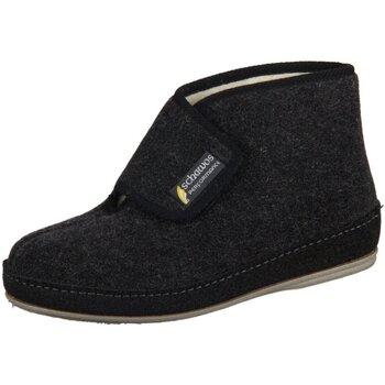Schuhe Damen Hausschuhe Schawos 6060-24 schwarz