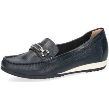 Schuhe Damen Slipper Caprice Slipper 24212-22 9-9-24212-22-840 blau