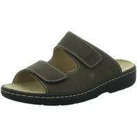 Schuhe Damen Pantoffel Longo Pantoletten Beq. Pant.. Wörishf 1012091 3 braun