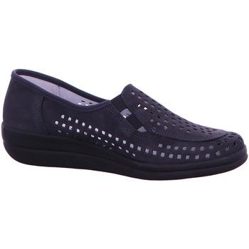 Schuhe Damen Slipper Longo Slipper  1006444 blau