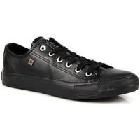 Schuhe Damen Sneaker Low Big Star INT607 Schwarz