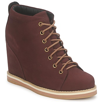 Schuhe Damen Ankle Boots No Name WISH DESERT BOOTS Bordeaux