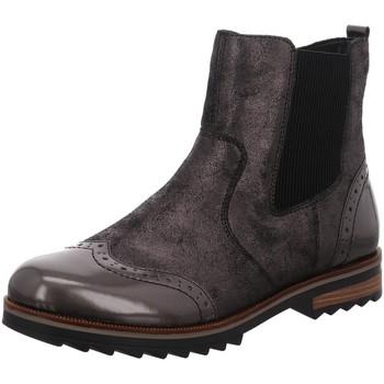 Schuhe Damen Boots Remonte Dorndorf Stiefeletten R2281-45 grau