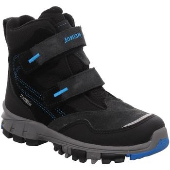 Schuhe Jungen Schneestiefel Meindl Winterstiefel Polar Fox 7749-79 ozean 7749-79 schwarz