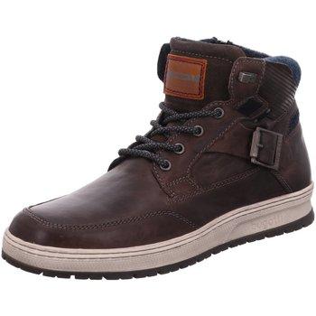 Schuhe Herren Sneaker High Bugatti Revel 321334353200-1100 braun