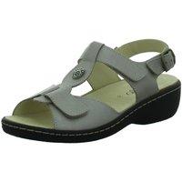 Schuhe Damen Sandalen / Sandaletten Longo Sandaletten Komfort Sandalette 1022115 grau
