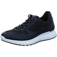 Schuhe Herren Sneaker Low Ecco Schnuerschuhe ST1 M 836194/51052 schwarz