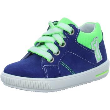 Schuhe Jungen Sneaker Low Superfit Schnuerschuhe blau