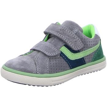 Schuhe Jungen Sneaker Low Salamander Klettschuhe 331330325 grau