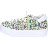 Schuhe Damen Sneaker Low 2 Stars sneakers multicolor textil ap709 multicolor