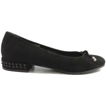 Schuhe Damen Ballerinas Guido Sgariglia ballerinas schwarz wildleder ay112 schwarz