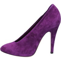Schuhe Damen Pumps Casadei pumps lila wildleder az383 lila
