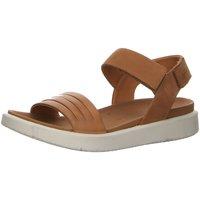 Schuhe Damen Sandalen / Sandaletten Ecco Sandaletten Womens 273603-51323-Flowt braun
