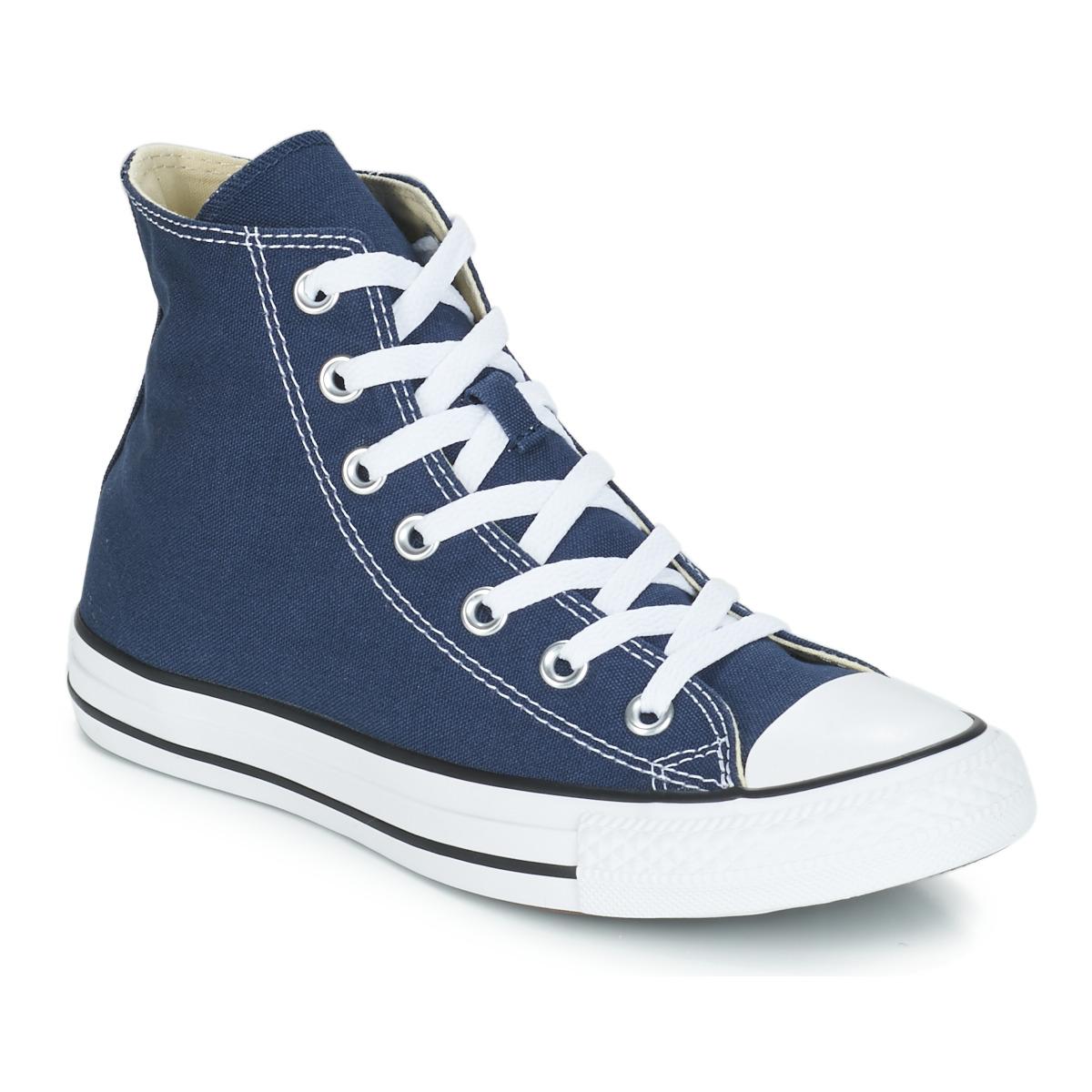 Converse CHUCK TAYLOR ALL STAR CORE HI Marine - Kostenloser Versand bei Spartoode ! - Schuhe Sneaker High  55,99 €