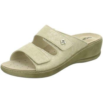 Schuhe Damen Sandalen / Sandaletten Rohde Pantoletten 5758/12 weiß