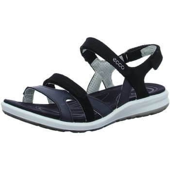 Schuhe Damen Sandalen / Sandaletten Ecco Sandaletten Sandalette  CRUISE II 821833 51707 schwarz