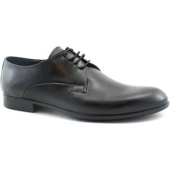 Schuhe Herren Richelieu Melluso MEL-CCC-U24400F-NE Nero