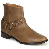 Schuhe Damen Boots Emma Go MARLON Braun