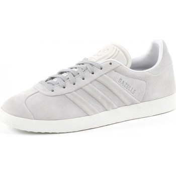 Schuhe Damen Sneaker Low adidas Originals Gazelle Stitch and turn Women Gris
