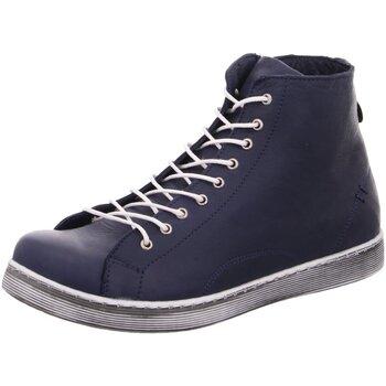 Schuhe Damen Sneaker High Diverse Stiefeletten Andrea Conti 0341500274 blau