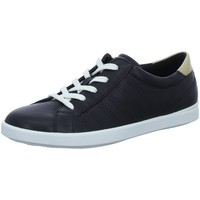 Schuhe Damen Sneaker Low Ecco Schnuerschuhe 205033/50263 schwarz