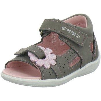 Schuhe Mädchen Sandalen / Sandaletten Ricosta Maedchen - 69 3124100 451 grau
