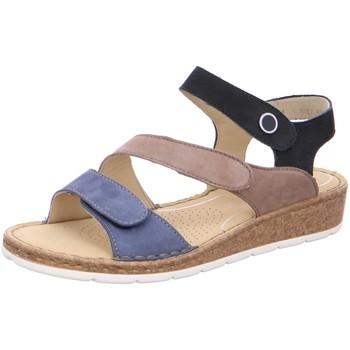 Schuhe Damen Sandalen / Sandaletten Ara Sandaletten Positano Hi Soft 12-16117-05 blau