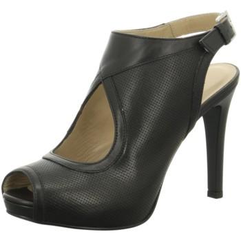 Schuhe Damen Sandalen / Sandaletten NeroGiardini High p907864de 100 schwarz