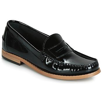 Schuhe Damen Slipper André CESAR Schwarz