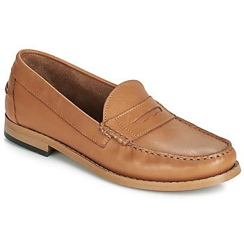Schuhe Damen Slipper André CESAR Cognac