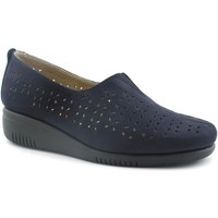 Schuhe Damen Slipper Grunland GRU-E19-SC4478-BL Blu