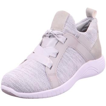 Schuhe Damen Sneaker Low Jana Woms Lace-up GREY