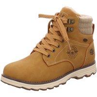 Schuhe Jungen Boots Dockers by Gerli Schnuerstiefel 41TE702-630-910 gelb