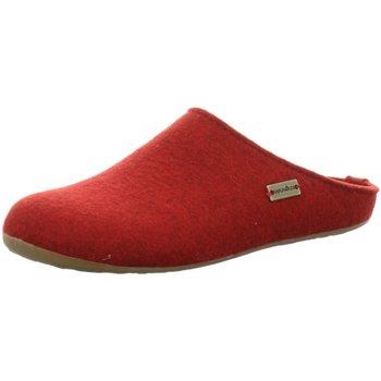 Schuhe Herren Hausschuhe Haflinger 481024 11 rot