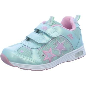 Schuhe Mädchen Sneaker Low Diverse Klettschuhe Starshine V 300166 blau