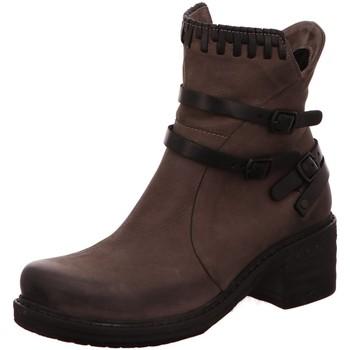 Schuhe Damen Low Boots Macakitzbühel Stiefeletten 2328 grau