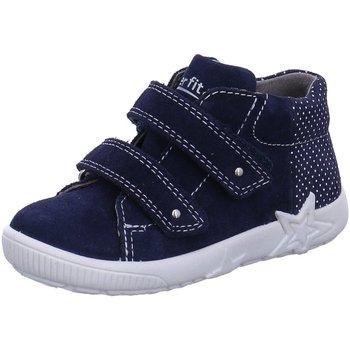 Schuhe Jungen Boots Superfit Klettschuhe 4-09436-80 4-09436-80 blau