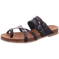 Schuhe Damen Sandalen / Sandaletten Diverse Sandaletten 6106801-009 schwarz