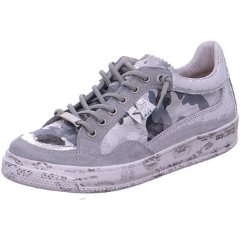 Schuhe Damen Sneaker Low Cetti Schnuerschuhe -55 C 1181 grau