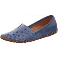 Schuhe Damen Derby-Schuhe & Richelieu Gemini Slipper 031223 000003122302808 blau