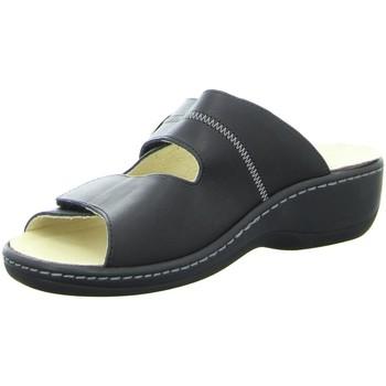 Schuhe Damen Sandalen / Sandaletten Diverse Pantoletten Wechsel Kork-Fußbett 59207-001 schwarz